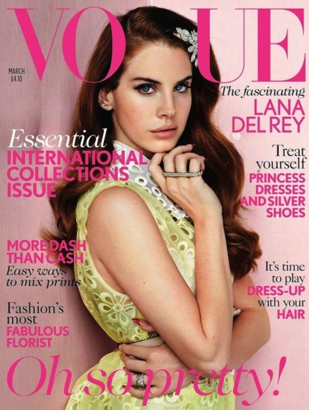 Lana del Rey Vogue UK