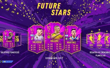Guía FIFA 20: Equipo Future Stars 2. Todas las cartas de futuras promesas y cómo resolver los desafíos de FUT 20