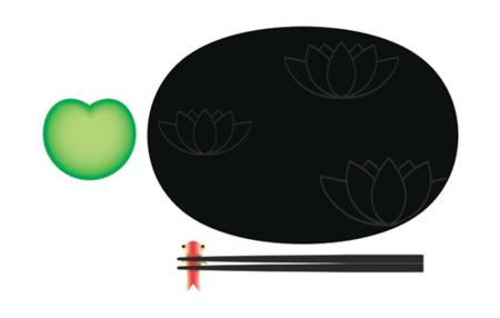 Lily Pond: Set para sushi