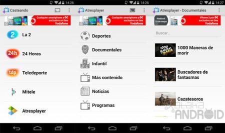 Google Play elimina la app Casteando por presiones de RTVE y Atresmedia