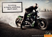Pirelli se une a los mensajes contra el tabaco