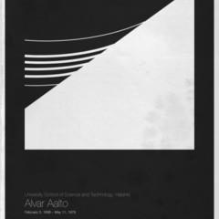 Foto 5 de 6 de la galería six-architects-posters-minimalistas-de-grandes-arquitectos en Decoesfera