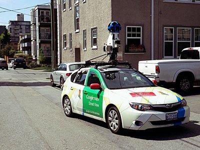 La AEPD sanciona a Google con 300.000 euros por recolectar datos de redes WiFi a través de Street View
