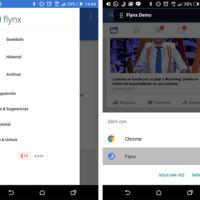 Flynx, o cómo guardar artículos para leer más tarde (y cómodo) en tu Android