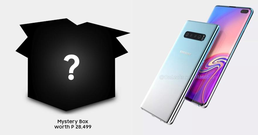Comprar un Galaxy S10 a ciegas: esto es lo que propone Samsung Filipinas antes del lanzamiento