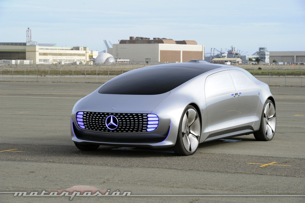 Mercedes F 015 >> Mercedes-Benz F 015 Luxury in Motion, probamos el auto que no se conduce