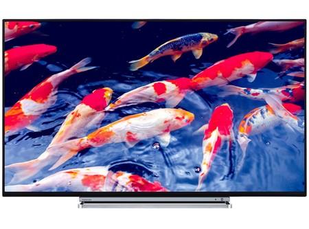 Oferta Relámpago: Smart TV de 49 pulgadas Toshiba 49V6763DG, con resolución 4K, por 410 euros y envío gratis