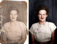 El arte de restaurar fotos antiguas. Dos horas y media de trabajo en 7 minutos de Time Lapse