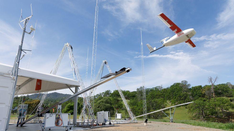La alambrada de drones mas abultado del planeta está en Ghana y preserva la salud de 12 millones de personas