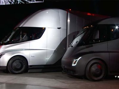 Tesla usará el Semi para transportar su propia mercancía entre Fremont y su Gigafactoría