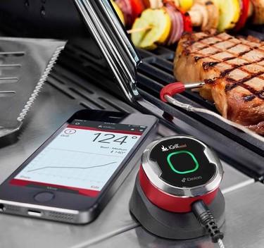 Mide la temperatura de tu comida con el iGrill Mini