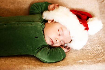 Santa Durmiendo