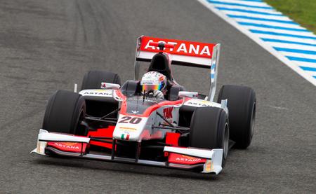 Dani Juncadella Test GP2 Jerez