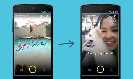 ScreenPop, envía fotos y mensajes a tus amigos desde la pantalla de bloqueo