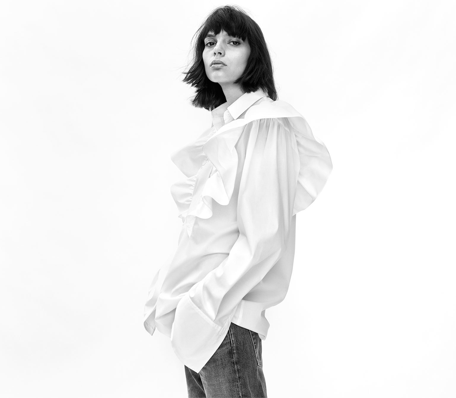 Zara lookbook Oversize