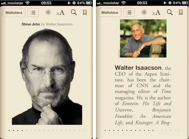 Steve Jobs Apple Biografía Walter Isaacson iBooks Store