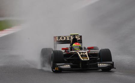 Sergio Canamasas Post 2012 Test Barcelona Lotus GP