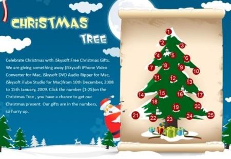 Más software de regalo por Navidad: El árbol de regalos de iSkysoft