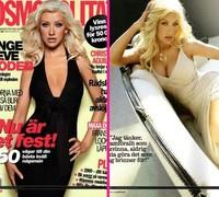 Christina Aguilera para Cosmopolitan Suecia