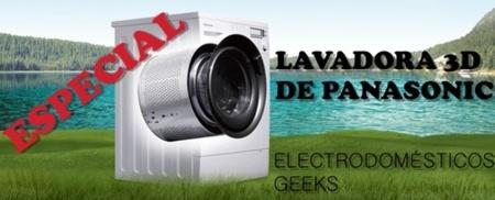 Electrodomésticos geeks: lavadora con sensor 3D