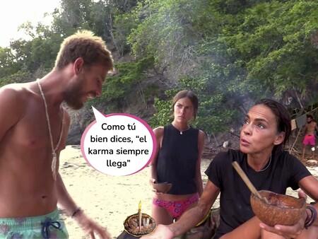 ¡Tom Brusse dice la verdad! Este es el vídeo que demuestra que Olga Moreno SÍ ha hablado mal de Melyssa Pinto en 'Supervivientes'