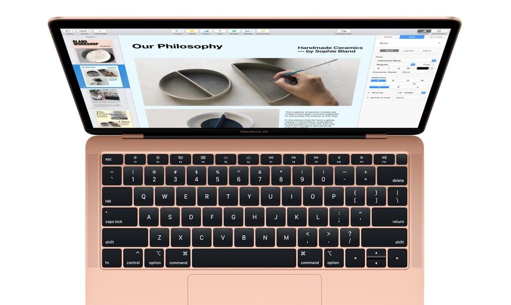 macOS Mojave 10.14.4 aumenta la luminosidad de las pantallas de los MacBook Air en 100 nits adicionales