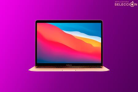 El ultrabook MacBook Air con chip M1 y gran autonomía alcanza su precio mínimo histórico en Amazon: 1.059 euros