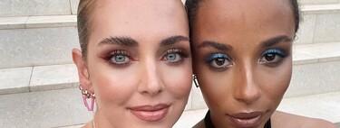 El delineado de ojos de Chiara Ferragni es pura inspiración como maquillaje de verano
