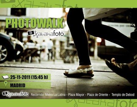 Photowalk Xataka Foto 2011: ¿te vienes a hacer fotos con nosotros?
