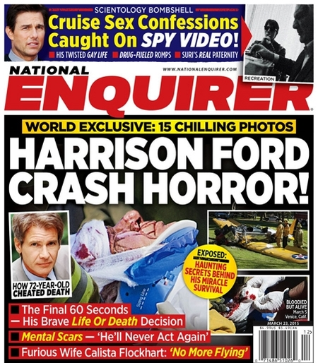 Harrison Ford, ¡pa