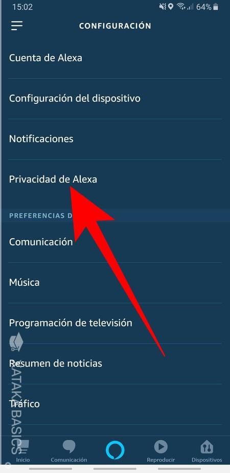 Privacidad De Alexa