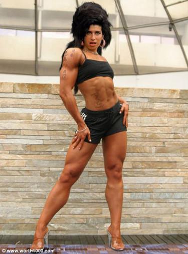 Famosas musculosas