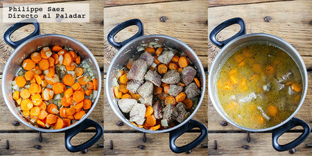 Carne Res Zanahorias