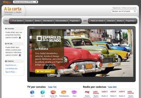 Cómo es el nuevo servicio de televisión a la carta de RTVE