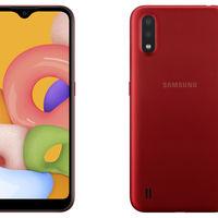Samsung Galaxy A01: la línea A0 se estrena con doble cámara trasera y batería de 3.000 mAh