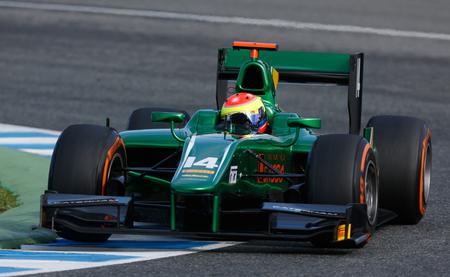 Sergio Canamasas Caterham GP2