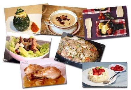 Menú semanal del 9 al 15 de mayo de 2011
