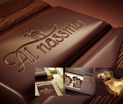 Chocolate de leche de camella