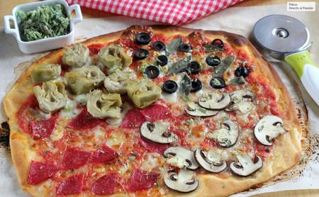 Pizza cuatro estaciones: qué lleva, cómo se hace y por qué se llama así