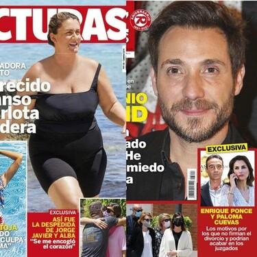 Amelia Bono y Manuel Martos se separan y el comienzo de la guerra judicial entre Enrique Ponce y Paloma Cuevas: estas son las portadas de la semana del 30 de junio