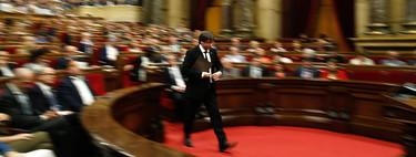 ¿Ha habido declaración de independencia en Cataluña? Probablemente ni Puigdemont lo sabe