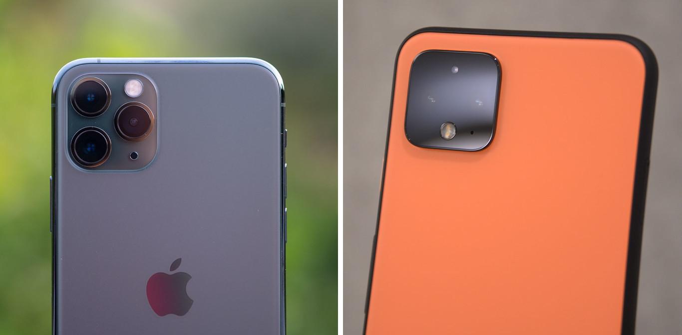 Nuevos Pixel 4 y Pixel 4 XL vs iPhone 11 y iPhone 11 Pro Max: de nuevo la pelea está en las cámaras