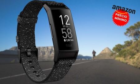 Sólo hoy, en Amazon, la pulsera deportiva Fitbit Charge con correa textil está a precio mínimo por 124,95 euros