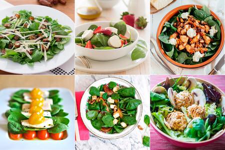 15 recetas de ensalada de espinacas para una comida fácil pero muy completa