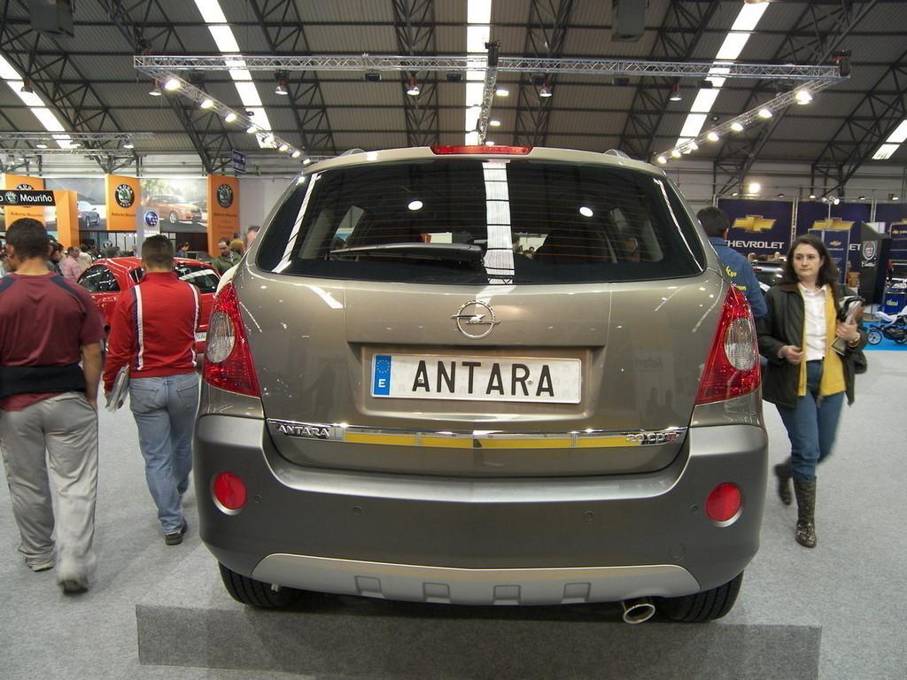 Foto de Opel Antara en el Salón de Vigo (1/11)