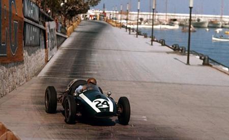 Jack Brabham Cooper T51 1959 GP Mónaco