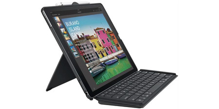 Logitech Slim Combo Funda Con Teclado Ipad Pro 12 9