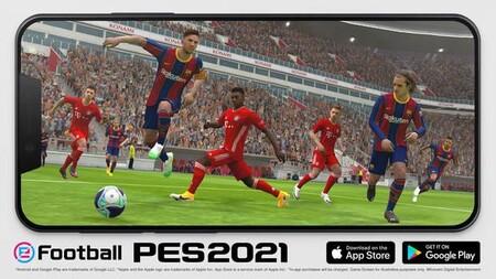eFootball PES 2021 Mobile ya está disponible para iOS y Android: el deporte rey vuelve actualizado a tu móvil