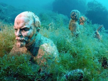 Underwater Museum At Cape Tarkhankut