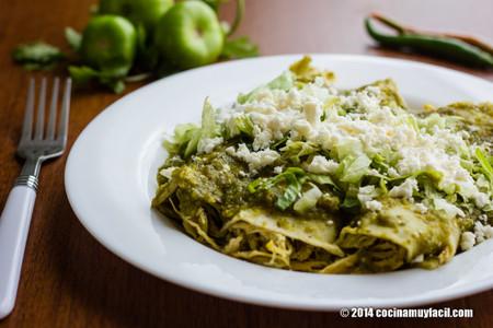 Enchiladas Verdes 4